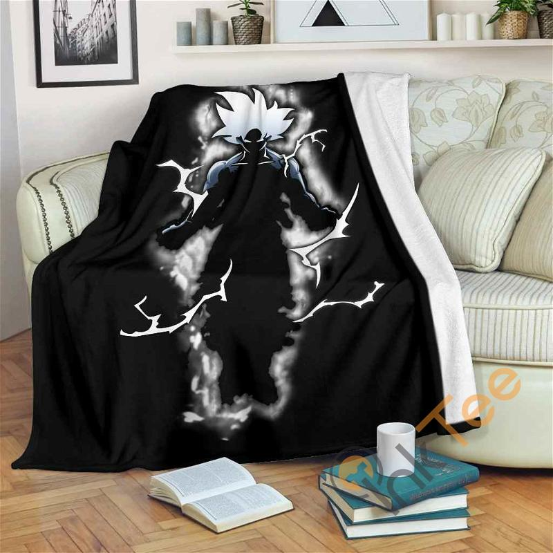 Goku Super Fleece Blanket