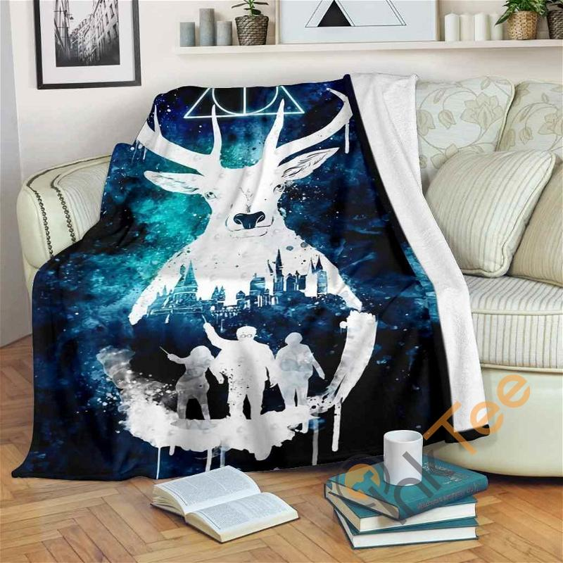 Harry Potter Art Fleece Blanket