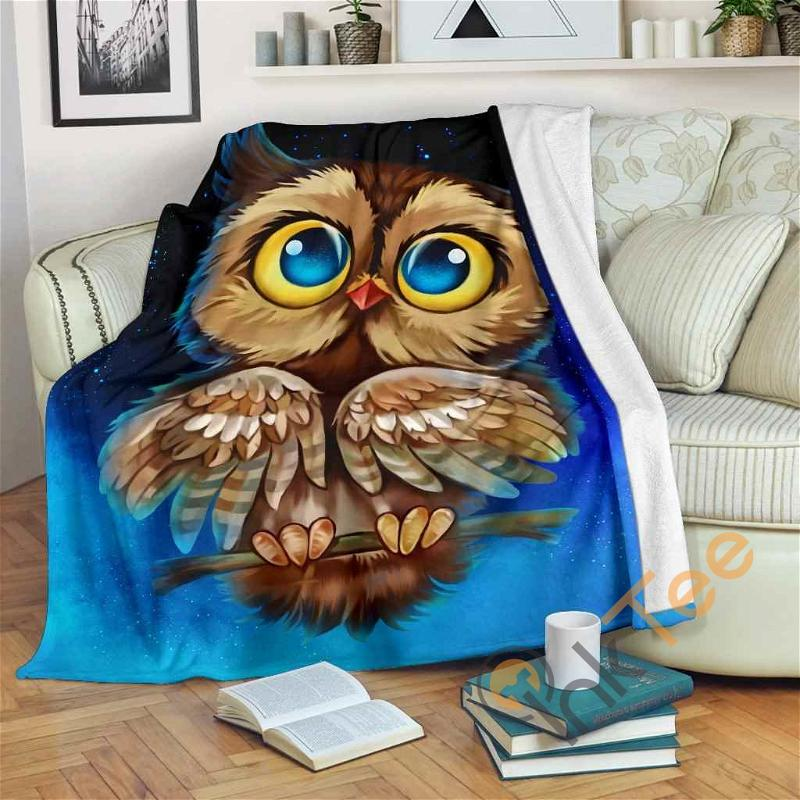 Owl Night 2019 Fleece Blanket
