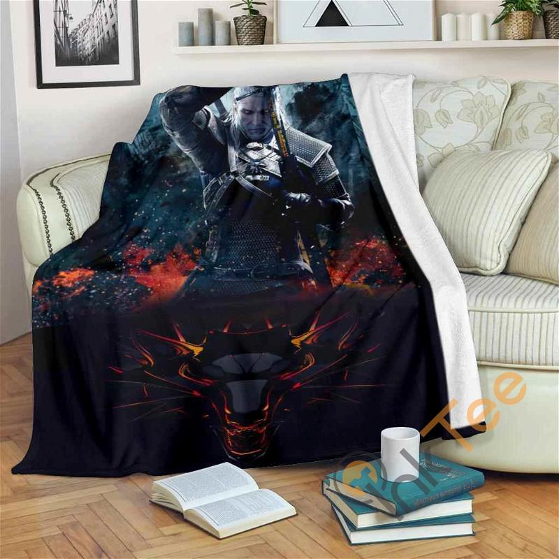 The Witcher Wild Hunt Fleece Blanket