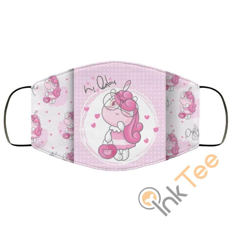 Baby Cute Unicorn Optical Grade Reusable And Washable Face Mask