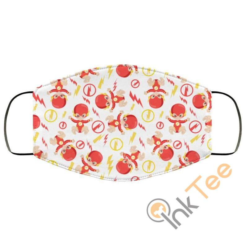 Baby Flash Super Hero Reusable Washable Face Mask