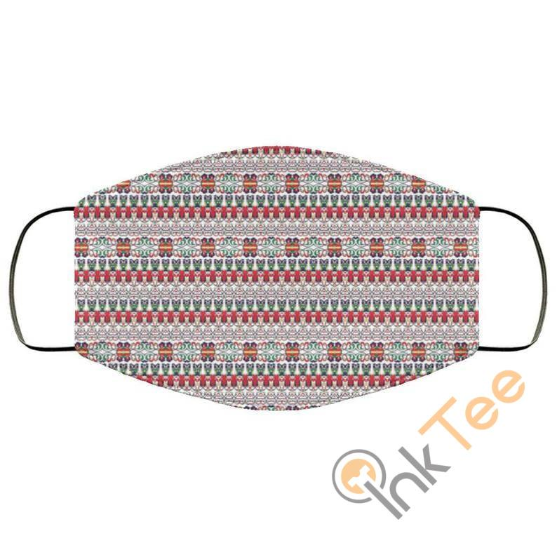Colorful Asian Thai Patternelastic Reusable And Washable Face Mask