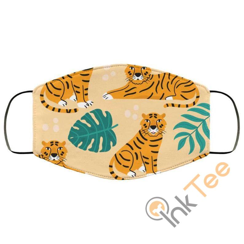 Cute Tiger Reusable Washable Face Mask