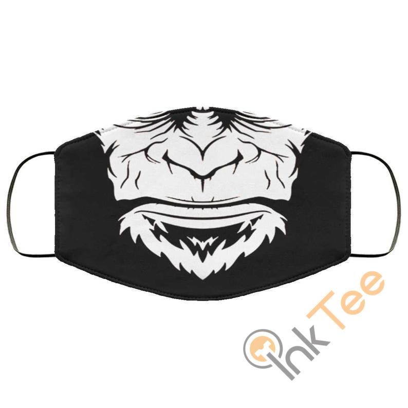 Gorilla Mouth Reusable And Washable Face Mask