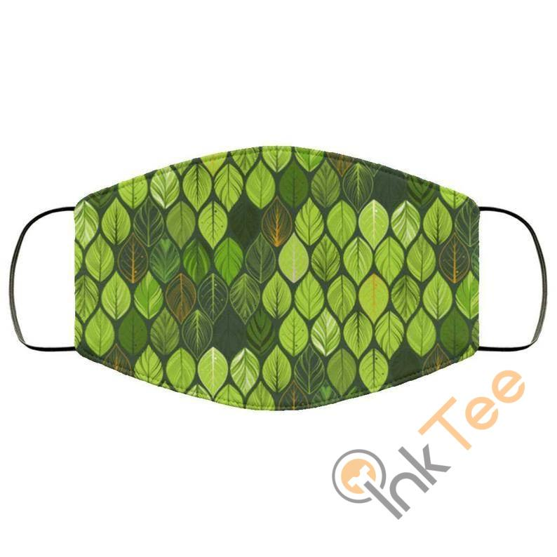Green Leaves Reusable Washable Face Mask