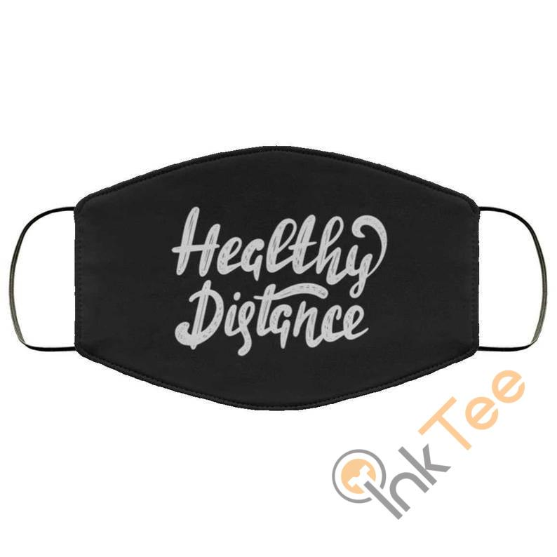 Healthy Distance Reusable Washable Face Mask