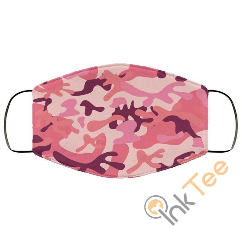 Pink Camo Reusable Washable Face Mask