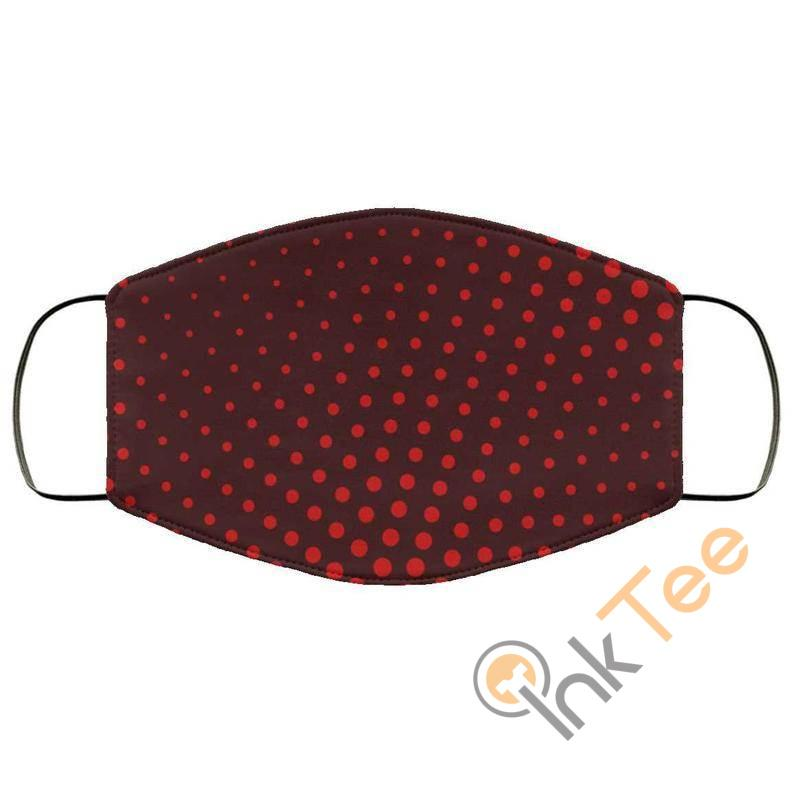 Red Dot Reusable Washable Face Mask