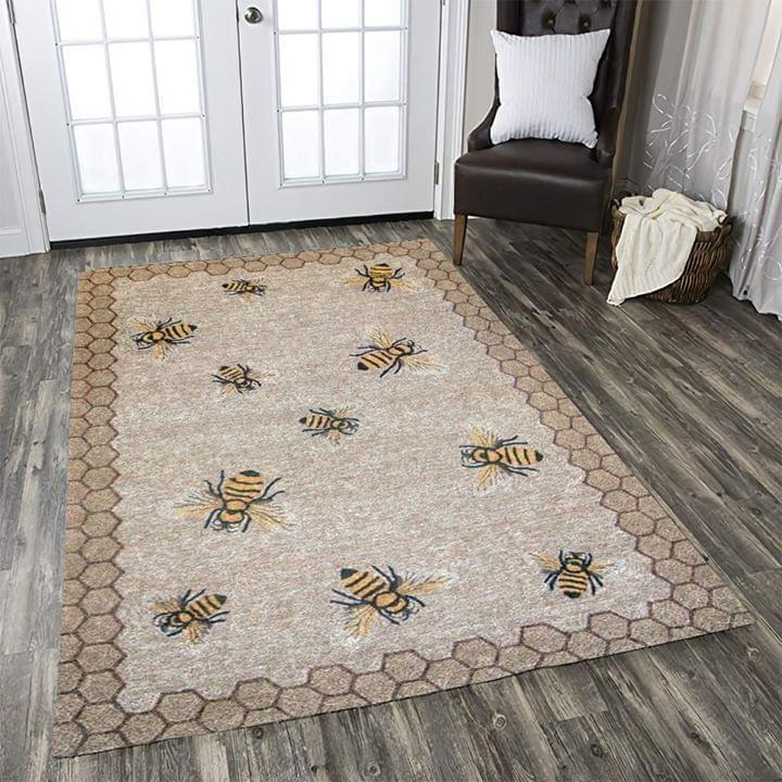 Bee Hive Rectangle Carpet Limited Edition Amazon Best Seller Sku 267063 Rug