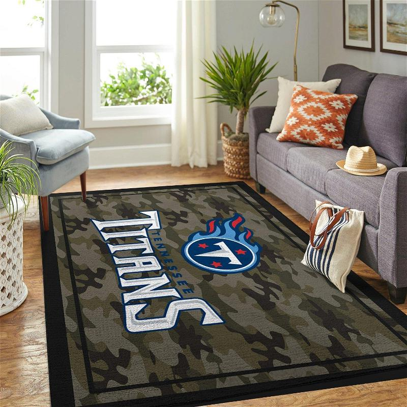 Camo Camouflage Tennessee Titans Nfl Limited Edition Amazon Best Seller Sku 267164 Rug