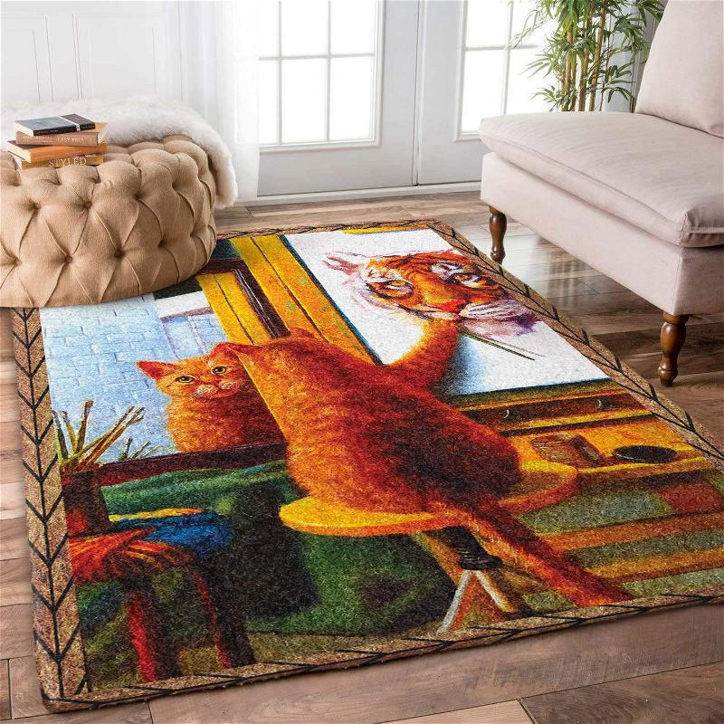 Cat Drawing Limited Edition Amazon Best Seller Sku 267091 Rug