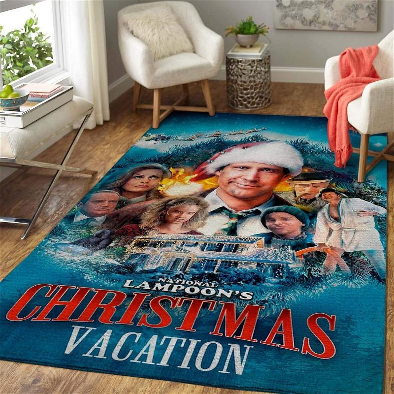 Christmas Gift National Lampoon�s Christmas Vacation Area Limited Edition Amazon Best Seller Sku 267217 Rug