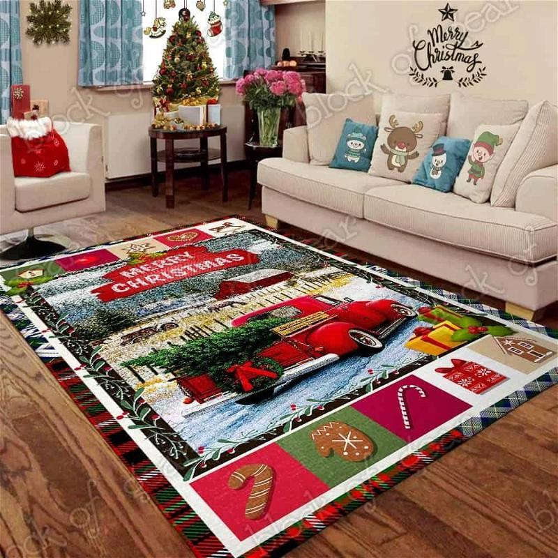 Country Life Red Truck Christmas Area Limited Edition Amazon Best Seller Sku 267121 Rug