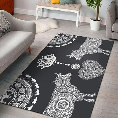 Cow Black Limited Edition Amazon Best Seller Sku 267214 Rug