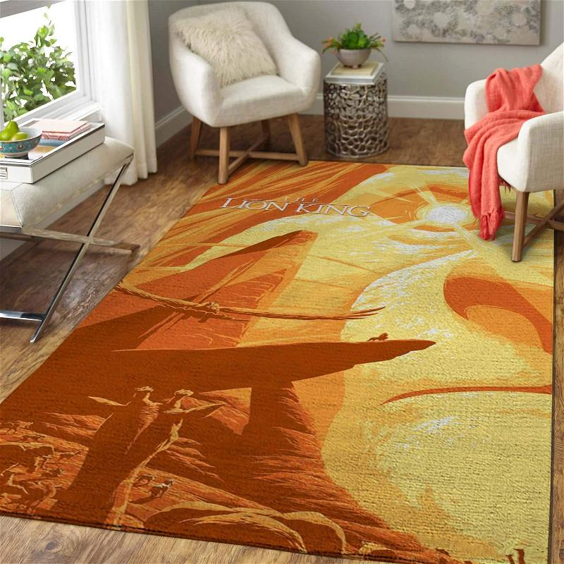 Disney Movie Fans The Lion King Area Limited Edition Amazon Best Seller Sku 267199 Rug