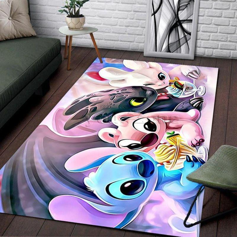 Disney Stitch Family Area Limited Edition Amazon Best Seller Sku 267111 Rug