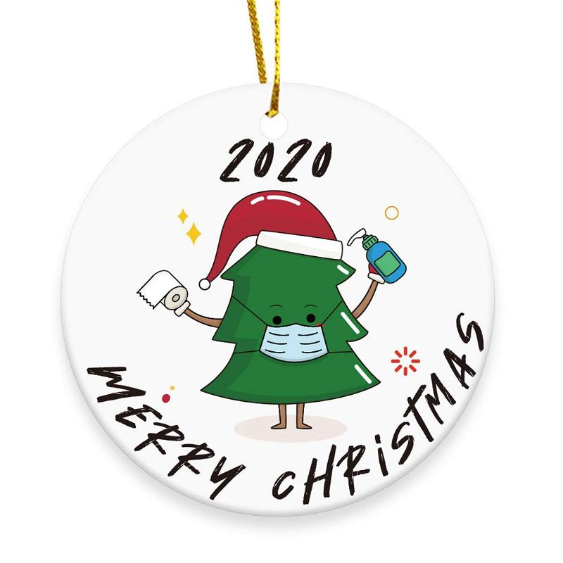 2020 Christmas Tree Ornament Merry Christmas Xmas Tree Personalized Gifts