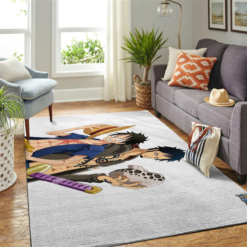 Amazon Onepiece-luffy Living Room Area No6439 Rug