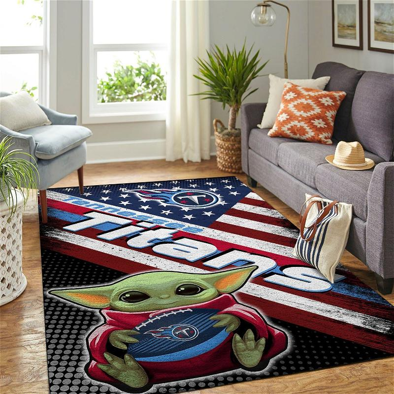 Amazon Tennessee Titans Living Room Area No5121 Rug