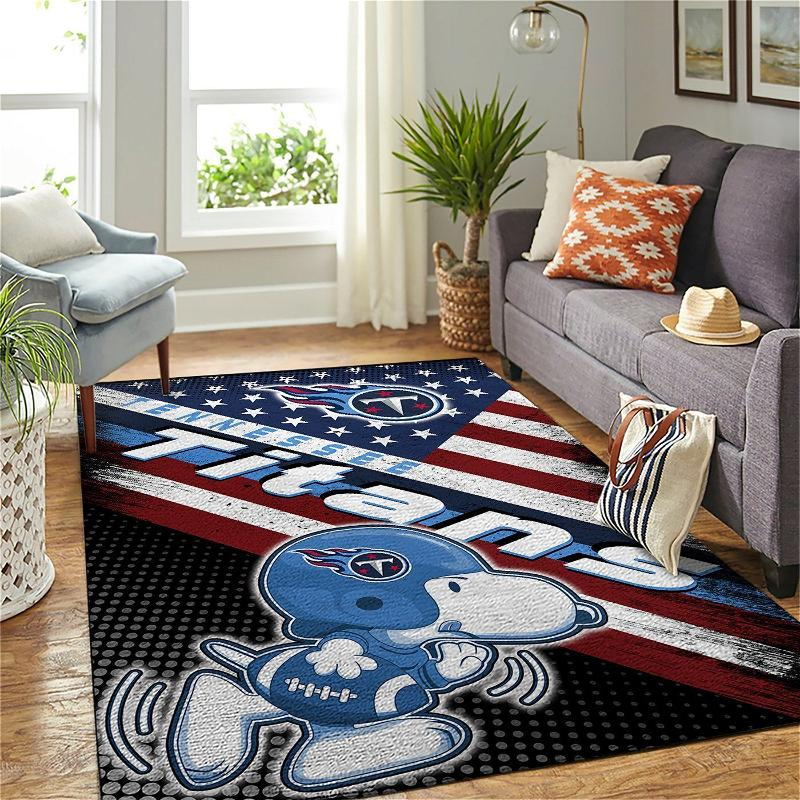 Amazon Tennessee Titans Living Room Area No5132 Rug