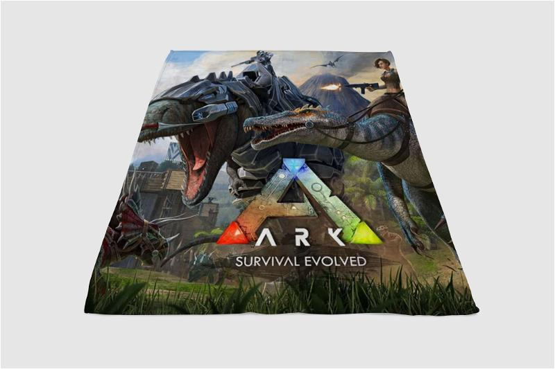 Ark Survival Evolved Fleece Blanket