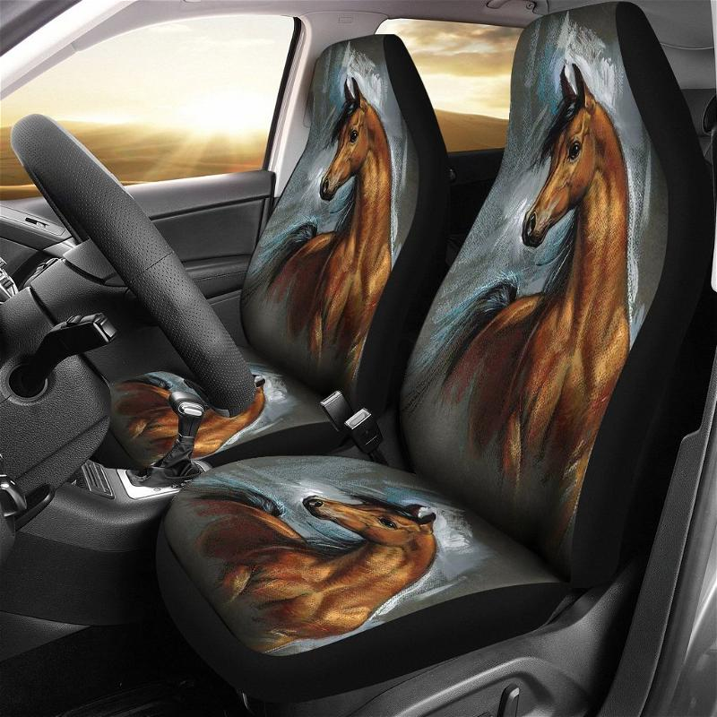 Art Horse Amazing Gift Ideas Car Seat Covers