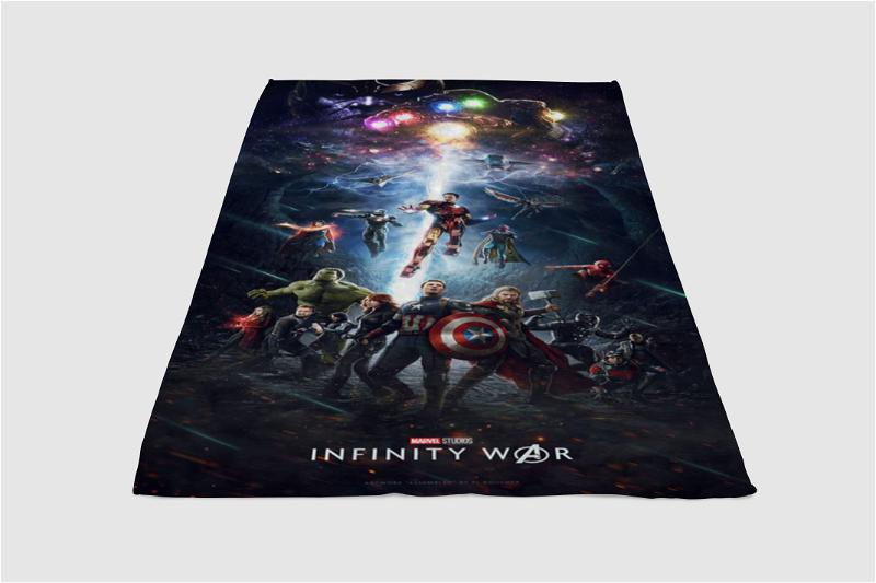Avengers Infinity War Fleece Blanket