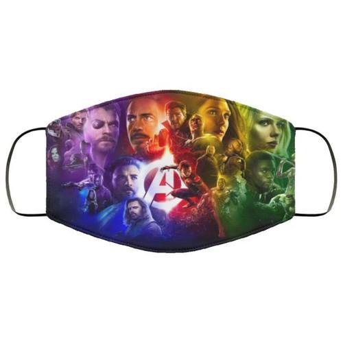 Avengers Infinity War Hero Characters Washable No1128 Face Mask