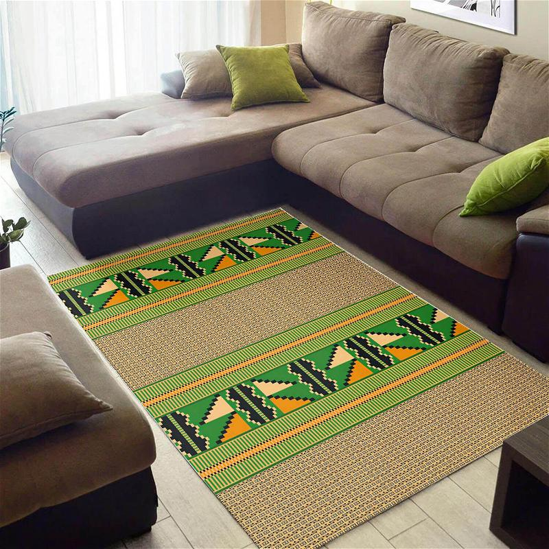 Beautiful African American Perfect Afro Seamless Pattern Style Carpet Rug