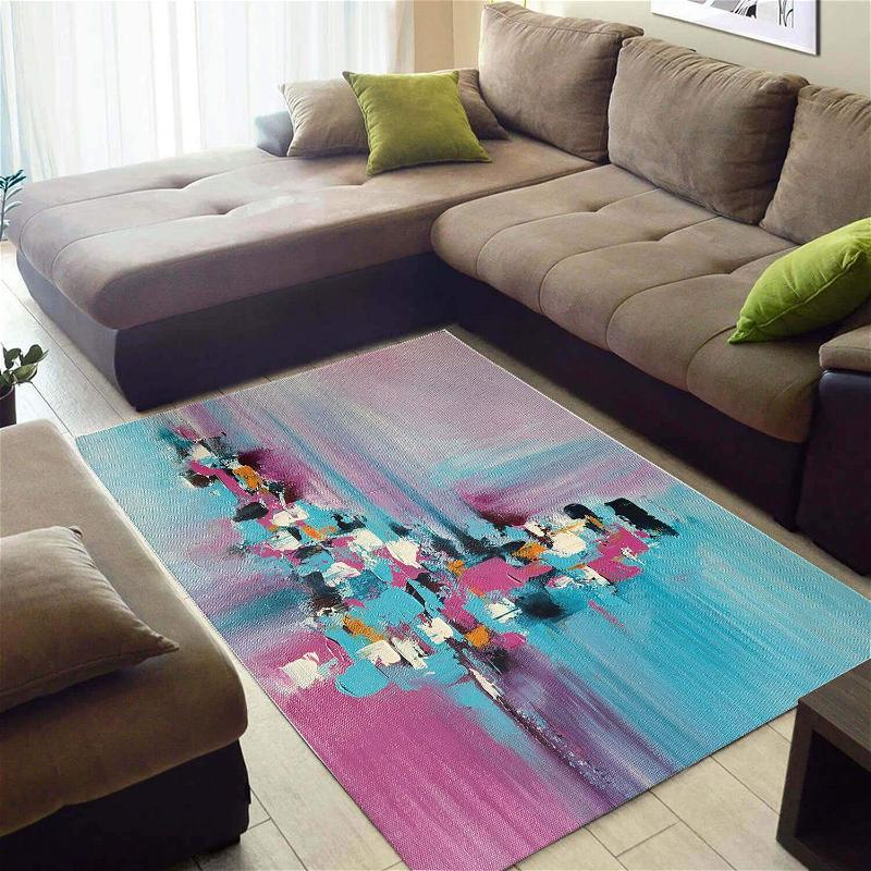 Beautiful African Unique Natural Hair Ethnic Seamless Pattern Large Inspired Home Rug
