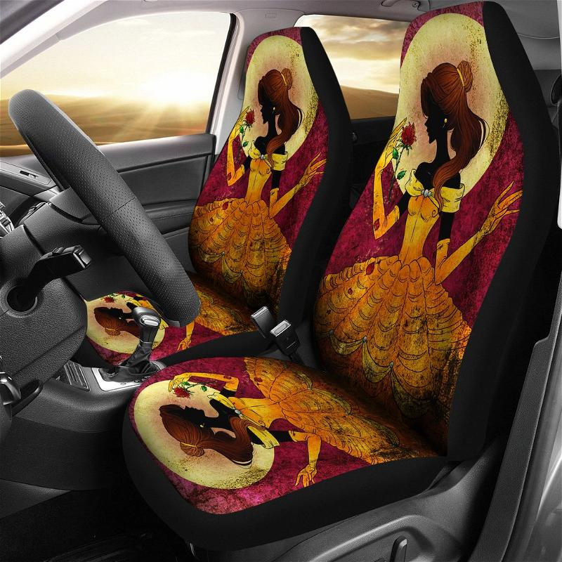 Bella Beauty And The Beast Car Seat Covers