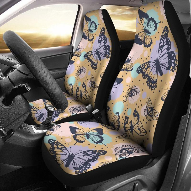 Butterfly Pretty Funny Gift Ideas Car Seat Covers