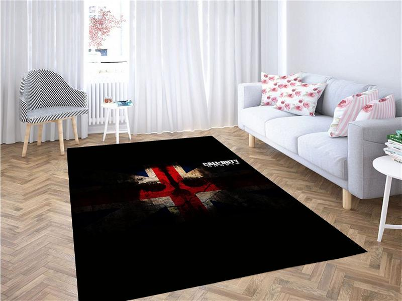 Call Of Duty Ghost Carpet Rug