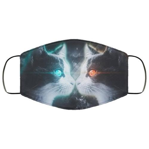 Cat Funny Cute Washable No1494 Face Mask