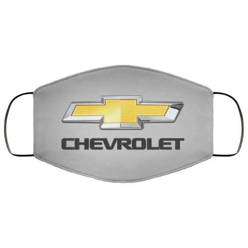 Chevy Bowtie Chevrolet Logo Washable No1529 Face Mask