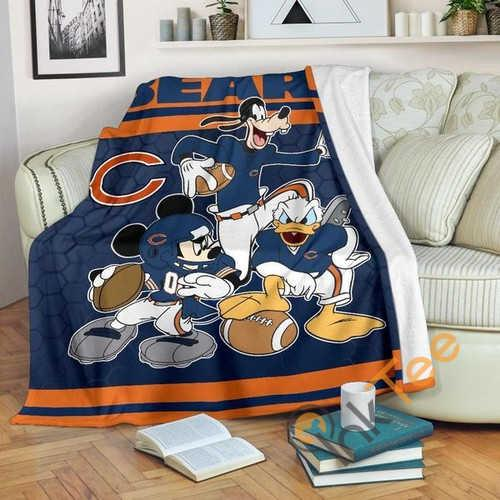 Chicago Bears Team Fleece Blanket