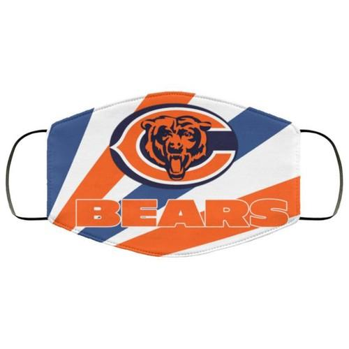 Chicago Bears Washable Filter No1568 Face Mask