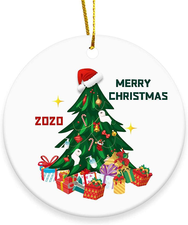 Christmas Tree Ornament Merry Christmas Xmas Tree 2020 Personalized Gifts