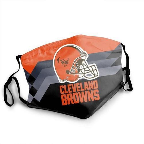 Cleveland Browns Washable No1678 Face Mask