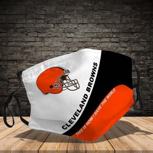 Cleveland Browns Washable No1679 Face Mask