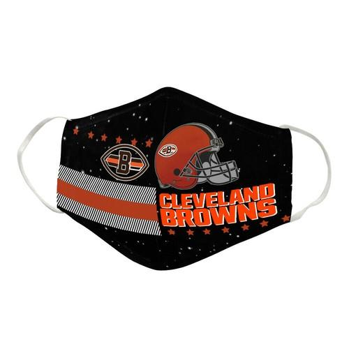 Cleveland Browns Washable No1681 Face Mask