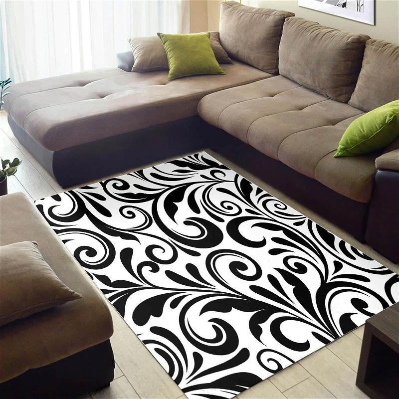 Cool African Attractive Seamless Pattern Themed Carpet Living Room Rug