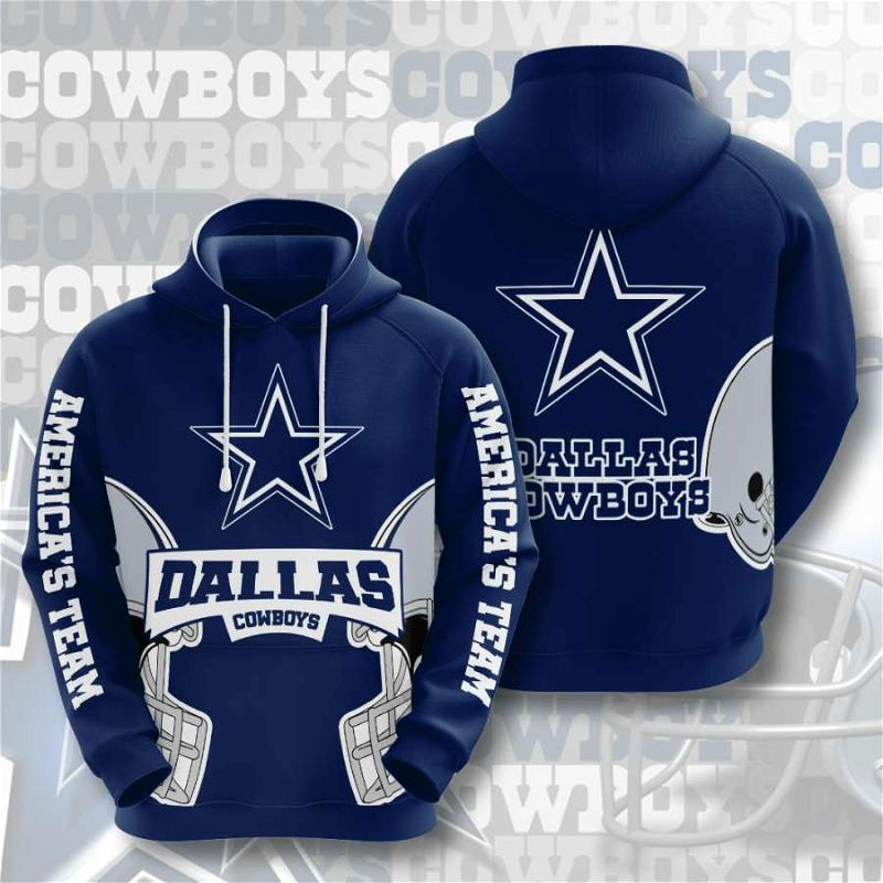Dallas Cowboys No528 Custom Hoodie 3D