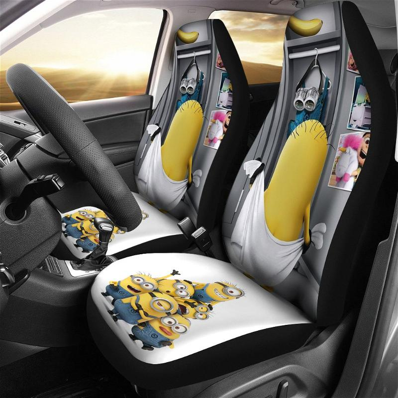 Despicable Me Minions 2020 Car Seat Covers