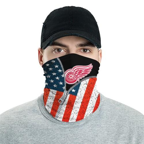Detroit Red Wings 6 Bandana Scarf Sports Neck Gaiter No2019 Face Mask