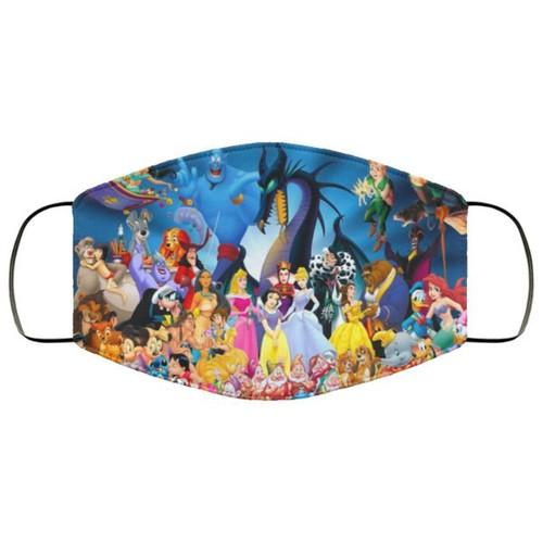 Disney All Characters Washable No2041 Face Mask