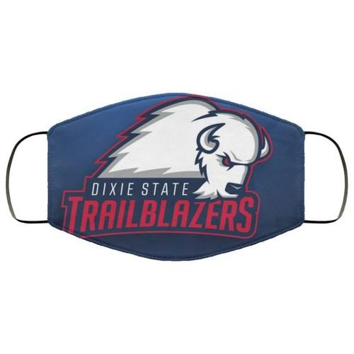 Dixie State Trailblazers Washable No2047 Face Mask