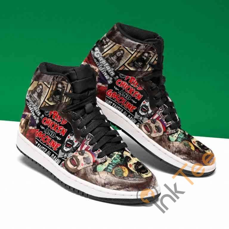 Fried Chicken And Gasoline Custom It894 Air Jordan Shoes