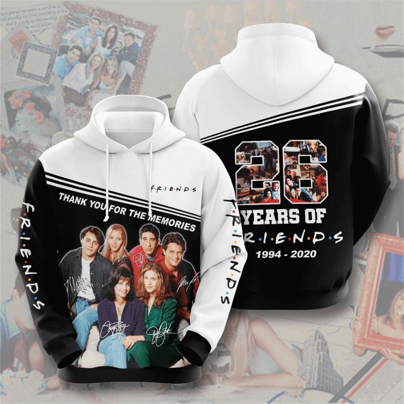 Friends No689 Custom Hoodie 3D